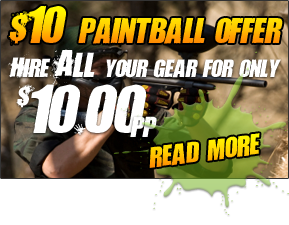 $10.00 Paintball Offer